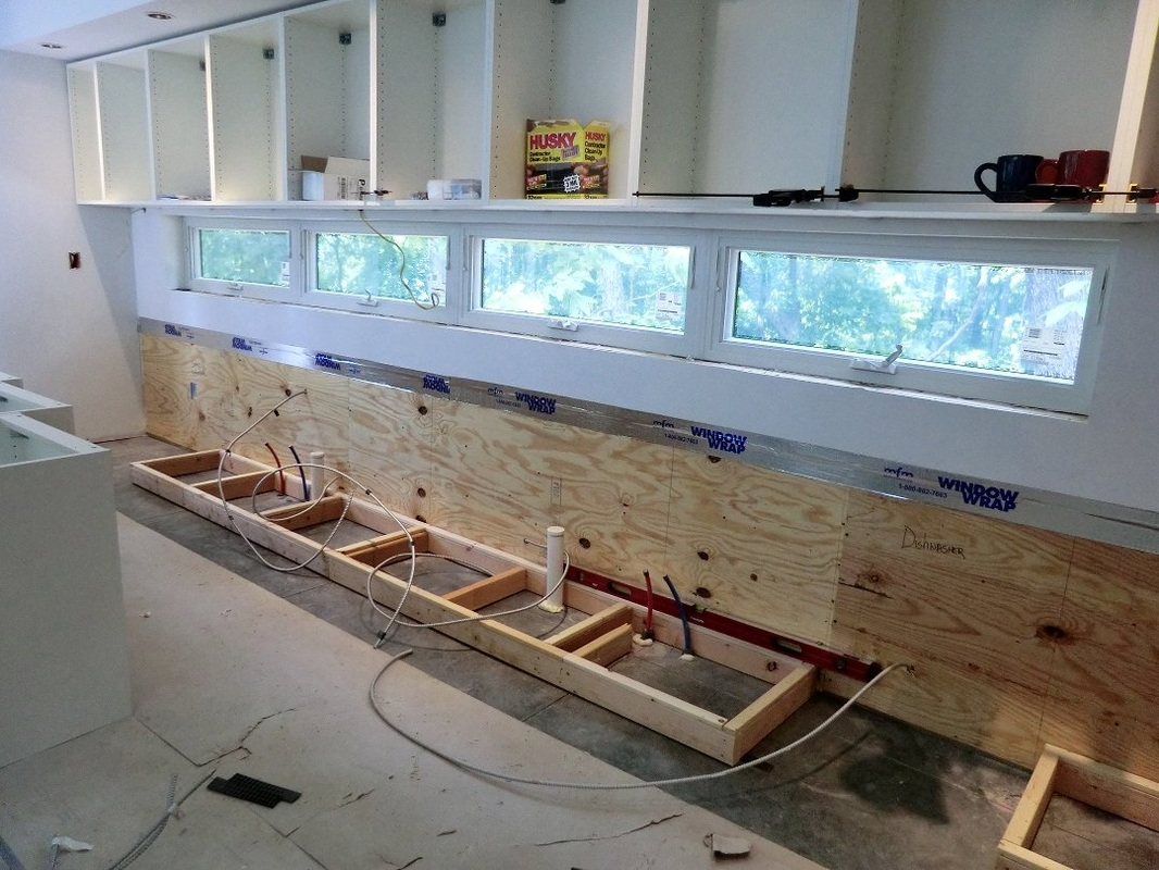 use a good straight 2x4 and some quick clamps to bridge across built in appliances  this helps insure that the cabinets on either side are aligned and     category  ikea   neoterra  rh   neoterra us
